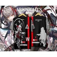 Baju Kaos Anime Game ARKNIGHT W Full Print