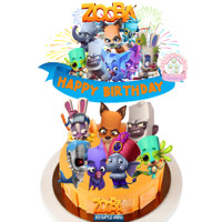 ZOOBA CAKE TOPPER
