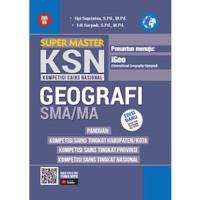 BUKU SUPER MASTER KSN (KOMPETISI SAINS NASIONAL) GEOGRAFI SMA/MA
