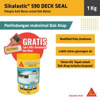 Deck Seal Sikalastic 590 Waterproofing Anti Bocor Dak Beton Atap 1Kg
