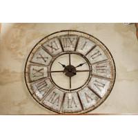 Jam Dinding / Clock Model Industrial 2 - Diameter 75 cm