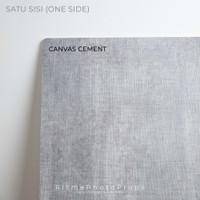 Alas Foto Background Board uk 60x60cm Motif - Canvas Cement