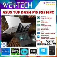 ASUS TUF DASH F15 FX516PC i7-11370H 8GB 512SSD RTX3050 4GB WIN10 OHS
