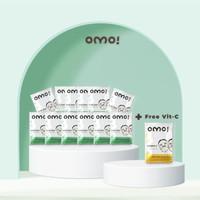 12 pcs OMO! Sheet Mask Aloe Vera (Free 1 pcs Vitamin C)