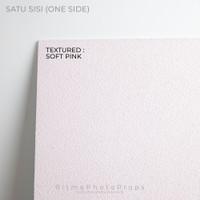 Alas Foto Background Board uk 60x60cm Textured - Soft Pink