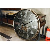 Jam Dinding / Clock Model Antiques - Diameter 100 cm