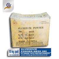 Aluminium powder activated al 72% mesh 320 15 kg/pail