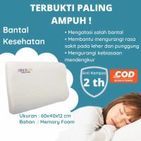 Bantal Memory Foam Terapi Kesehatan Anti Dengkur Sakit Leher Hiberlux