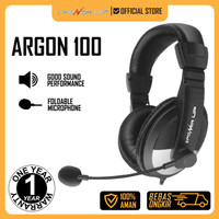 3 Power Up ARGON 100 Stereo Headset Microphone