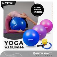 Gym Yoga Ball | Bola Yoga Yoga Pilates Fitnes Anti Burst | FITS FACT