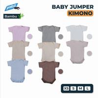 Jumper Bayi Polos / Baby Jumper Segitiga Katun Bambu