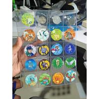 Tempat koin / Tazos / pokemon coin / Refill coin 20 Slot