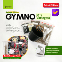 Paket Semai Kaktus Gymno Variegata Mix