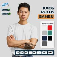 Kaos Bambu / Kaos Polos Bambu - Bamboo Cotton Unisex