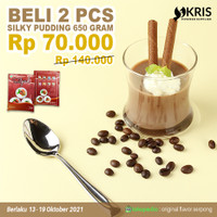 PROMO Bubuk Silky Pudding 650 gr - BELI 2 PCS HEMAT BANGET!!!