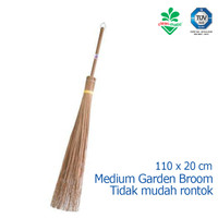 Sapu Kebun Medium Sapu Lidi Taman Halaman Cleanmatic 180073