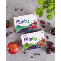 Flimty Fiber | Detox | Antidioksidan - 1 Box isi 16 Sachets