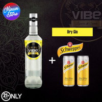 VIBE DRY GIN + Tonic Water