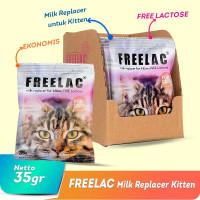 Susu Kucing FREELAC Milk Replacer for Kitten 35gram - (1 Dus isi 22)