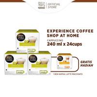 NESCAFE Dolce Gusto 3 Box Cappucino + Free 1 Box Latte Macchiatto
