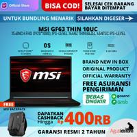 MSI GF63 Thin 10UC Core i7 10750H RTX 3050 8GB 512GB 15.6 FHD 144Hz