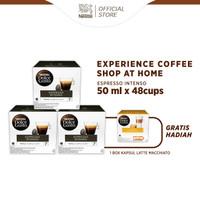 NESCAFE Dolce Gusto 3 Box Espresso Intenso+Free 1 Box Latte Macchiatto