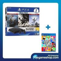 PS4 Slim Megapack 4 Bundle (Garansi Resmi Sony Indoensia)