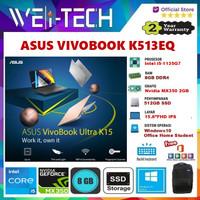 "ASUS VIVOBOOK K513EQ i5-1135G7 8GB 512GB MX350 2GB 15.6""FHD WIN10 OHS"