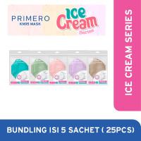 Primero KN95 Ice Cream Series Bundle - 1 Bundle isi 25pcs