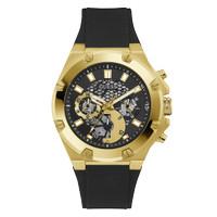 Jam Tangan Pria Guess Watch Black THIRD GEAR - GW0334G2