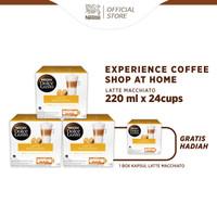 NESCAFE Dolce Gusto 3 Box Latte Macchiatto+Free 1 Box Latte Macchiatto