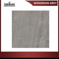 GRANIT LANTAI SANDIMAS MONDRIAN GREY MATT 60X60 [FREE ONGKIR]
