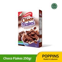 Poppins Choco Flakes Cereal 250g / Sereal Jagung Coklat Halal