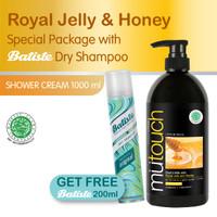 PAKET Mutouch Honey 1000ml FREE Dry Shampoo Batiste Original 200ml