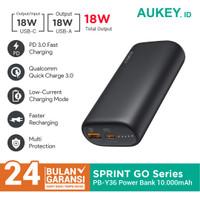 Powerbank Aukey PB-Y36 Sprint Go Mini 10000mAh Power Deliver - 500461