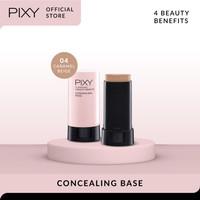 PIXY Concealing Base Caramel Beige 04 - UV Whitening