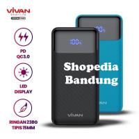 Vivan VPB-X10 10000mAh Powerbank 20W PD Quick Charge LED Power Bank