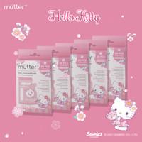MUTTER Sanrio Kantong Asi 120ml isi 30 Hello Kitty - PAKET HEMAT 5