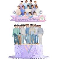KPOP SEVENTEEN CAKE TOPPER
