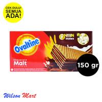NISSIN WAFERS OVALTINE CHOCOLATE MALT FLAVOUR 150 GRAM