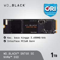 SSD WD Black SN750 SE 1TB - SSD M.2 NVMe PCIe