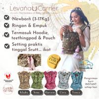 Cuddle Me Levana Gendongan bayi SSC Newborn adjustable tanpa Hipseat