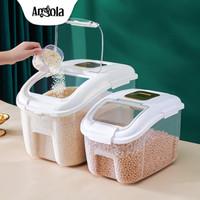 Angola Dispenser Beras E98/E99 Tempat Penyimpanan Beras Rice Dispenser