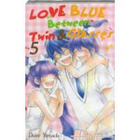 LOVE BLUE BETWEEN TWIN & GLASSES 1-5 -UR