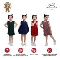 CUIT Toddler Anti Microbial Mori Series Shiori Dress Size 1-5 Tahun