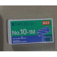 STAPLES MAX NO.10-1m (1000 staples)