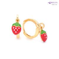 Meilyn Anting Jurai Gold Strawberry Cat K Emas 0271170181