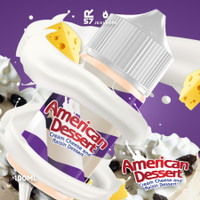 AUTHENTIC 100% Liquid American Dessert V2 Cream Cheese&Cream Raisin