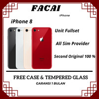 Iphone 8 / 64GB Seken Original Fullset / IPHONE 8 BEKAS / HANDPHONEVVV