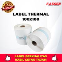 LABEL THERMAL KASSEN 100 X 100 ( 500 PCS )